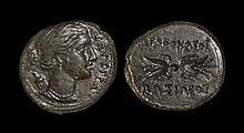 Ancient Greek Coins - Syracuse - Agathokles - Artemis Litra