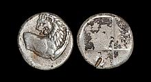 Ancient Greek Coins - Thrace - Chersonesus - Lion Hemidrachm