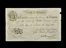 British Banknotes - Bank of England - Peppiatt - World War 2 German Forgery - 10 Pounds