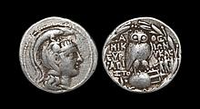 Ancient Greek Coins - Athens - New Style Owl Tetradrachm