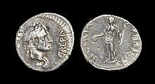 Ancient Roman Imperial Coins - Galba - Libertas Denarius