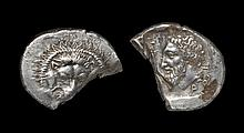 Greek Lycian Dynasts - Mithrapata - Chopped Lion Stater