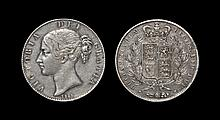 English Milled Coins - Victoria - 1844 VIII - Crown