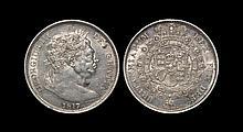 English Milled Coins - George III - 1817 - Halfcrown