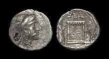 Ancient Greek Coins - Persis - Bagadat - Portrait Tetradrachm