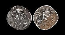 Ancient Greek Coins - Parthia - Mithradates II - Seated Archer Drachm