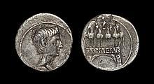 Ancient Roman Imperial Coins - Augustus - Triumphal Arch Denarius