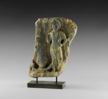 Gandharan Bodhisattva Frieze Fragment
