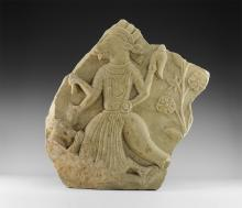 Indian Carved Relief of Varaha