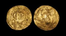 Ancient Byzantine Coins - Justin II - Constantinopolis Gold Solidus