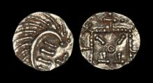 Anglo-Saxon Coins - Continental Issues - Series E - Porcupine Sceatta