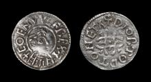 Anglo-Saxon Coins - Coenwulf - Canterbury / Diormod - Pincer Cross Penny