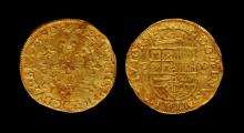 World Coins - Belgium - Brabant - Philip II - 1580 - Gold Couranne d'Or