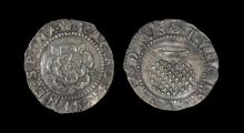 English Stuart Coins - James I - Rose and Thistle Penny