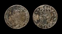 English Stuart Coins - Commonwealth - Cromwell - 1658 - Halfcrown