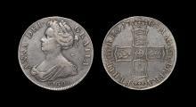 English Milled Coins - Anne - 1703 VIGO - Crown