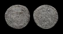 World Coins - Low Countries - Flanders - Charles the Bold - Double Patard