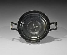 Greek Kylix with Central Decoration