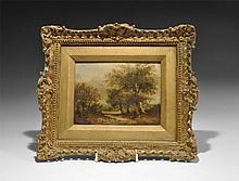 Antique Scottish Landscape Painting