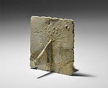Post Medieval Portable Sundial