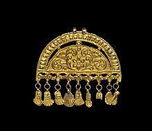 Indian Gold Pendant