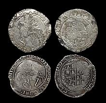 English Stuart Coins - Charles I - Under Parliament - Halfcrowns [2]