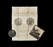 British Commemorative Medals - Sinking of the Lusitania - English Version Boxed Medal and Pamphlet