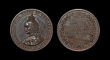 British Commemorative Medals - Victoria - 1887 Surbiton - Golden Jubilee Medal