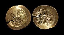 Ancient Byzantine Coins - Nicephorus III - Electrum Histamenon Nomisma