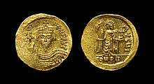 Ancient Byzantine Coins - Phocas - Angel Gold Solidus
