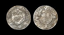 English Tudor Coins - Henry VIII - First Profile Bust Groat