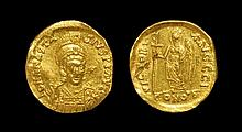 Ancient Byzantine Coins - Anastasius I - Victory Gold Solidus