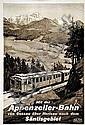 Poster: Appenzeller-Bahn