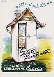 Poster: Electrolux Kühlschrank