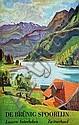 Poster: de Brünig Spoorlijn