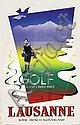 Poster: Golf Lausanne