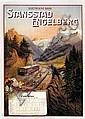 Poster: Elektrische Bahn Stansstad-Engelberg