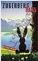 Poster: Zugerberg Bahn