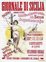 Poster: Giornale di Sicilia (2-teilig)