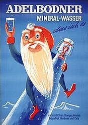 Poster: Adelbodner Mineralwasser
