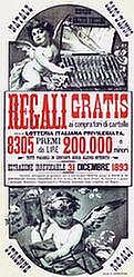 Poster: Regali Gratis (2-teilig)