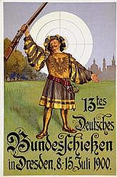 Poster: Bundesschiessen Dresden