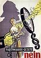 Poster: Tuberkulose-Gesetz Nein