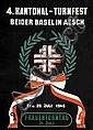 Poster: Kantonal-Turnfest beider Basel - Aesch