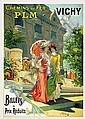 Poster: P.L.M. - Vichy