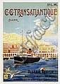 Poster: P.L.M. - C.C. Transatlantique