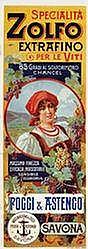 Poster: Zolfo Extrafino (2-teilig)