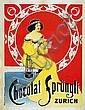 Poster: Chocolat Sprüngli