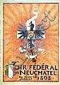 Poster: Tir fédéral Neuchâtel