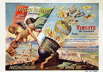 Poster: Lotteria Nazionale